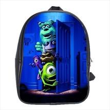 backpack school bag monsters inc inc. cute - $42.00