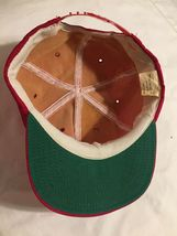 Vintage Tonkin Patch Hat Foam Red Trucker Snapback Cap Baseball Made In USA image 4