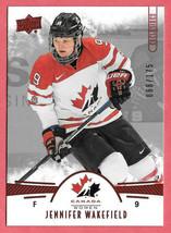 2016-17 Jennifer Wakefield Upper Deck Team Canada Juniors 068/175 Red - $1.28