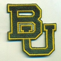BAYLOR BEARS  iron on embroidered PATCH COLLEGE UNIVERSITY SPORTS MASCOT... - $10.95