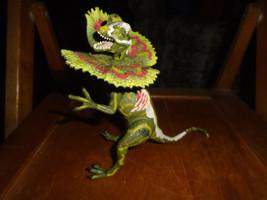 Jurassic Park 3 Hasbro Dilophosaurus Re-Ak A-Tak 2000 - $9.99