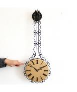 SCHATZ ELEXACTA Vintage Wall TOP Clock Germany PENDULUM Electromagnetic RESTORED - $895.00