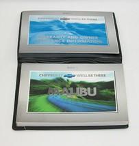 2001 Chevrolet Malibu Factory Original Owners Manual Book Portfolio #47 - $17.77