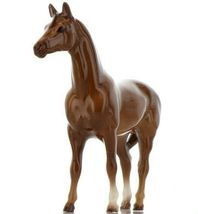 Hagen Renaker Miniature Horse Thoroughbred Race Swaps Ceramic Figurine Boxed image 7
