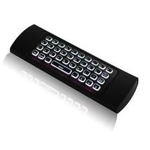 Clavier Sans-Fil Télécommande Volant Diffusion Souris à Rétro-éclairage ... - $18.88