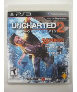 Uncharted 2: Among Thieves (Sony PlayStation 3, 2009) - $6.83