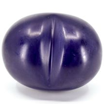 """Vaneal Group Hand Carved Soapstone 2-Sided Purple """"Wisdom"""" Heart Paperweight image 3"""