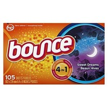 Bounce Fabric Softener Dryer Sheets, Sweet Dreams Scent, 105 Count - $77.93