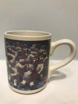 1996 Gibson Coca Cola Polar Bears Drinking Coke Cool Coffee Cup Mug - $3.99