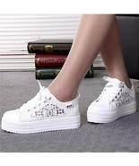 Women Shoes Sneakers 2018 Casual Running Breathable Fashion Sports Lace ... - $32.99+