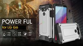 Hybrid Shockproof Hard Defender Slim Armor Case Phone Cover For LG G5 /G6 - $7.70