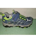 Merrell ML-B Trail Chaser Boys Hiking Outdoor Shoes Blue Gray Size Youth... - $44.55