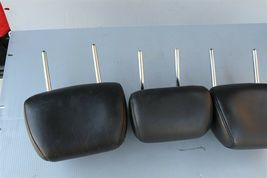 09-14 Nissan Murano Rear Back Black Leather Headrests Headrest Set of 3 image 4