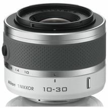 Nikon Nikkor 1 10-30mm f/3.5-5.6 VR Lens for J1 J2 J3 J5 V1 V2 -White image 1