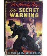 HARDY BOYS The Secret Warning by Franklin W Dixon (1938) G&D HC dj - $14.84