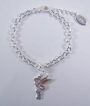 Disney Jewelry Silver Plated Tink Charm Bracelet - $19.60