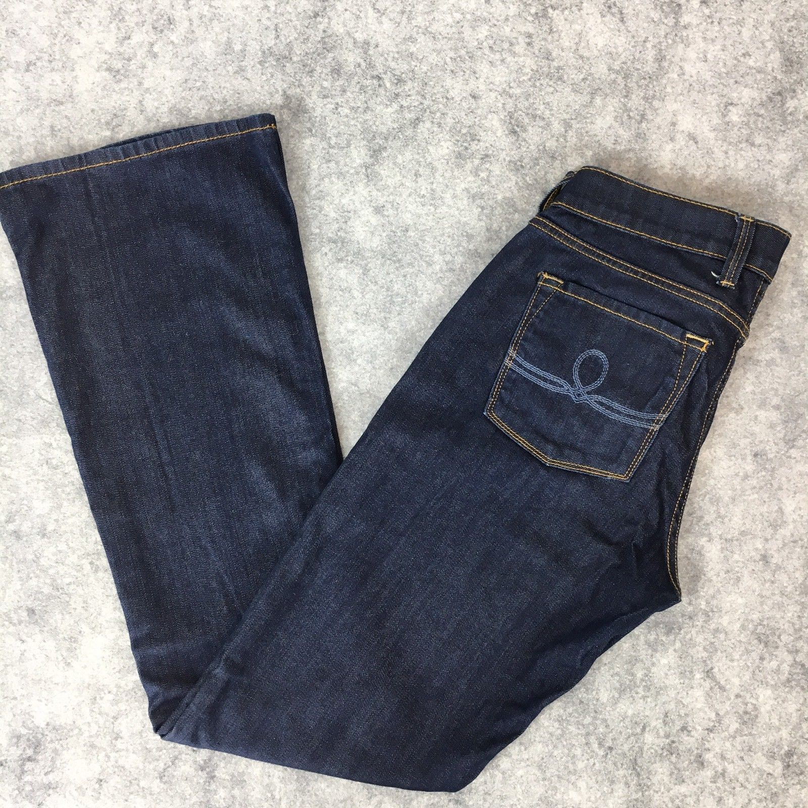 Lucky Brand Jeans Womens Sofia Boot Cut Cotton Stretch Dark Wash Size 4