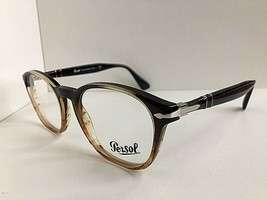 73830420f7 New Persol 3122-V 1026 Ambre 50mm Rx Eyeglasses Frame Hand Made in Italy -