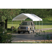 10 ft. W x 20 ft. D Max AP Canopy  Cover in White Waterproof UV Resistan... - $153.04