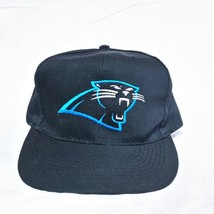 VTG 90s Carolina Panthers American Needle Snapback Hat Blockhead Otto NF... - $24.99