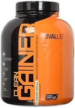 RIVALUS Muscle & Weight Enhancing Protein (Creamy Vanilla) 5lbs.-NEW- - $65.00