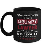 Lawyer Mug, Funny Coffee Cup For World's Greatest Lawyers - 11 Oz Ceramic Black - $14.95