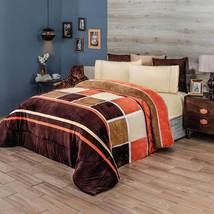 COGNAC Cobertor Blanket Flannel super soft  Intima Hogar  - $109.99+