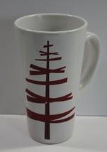 Starbucks Red Stick Christmas Holiday Tree Tall Mug 2012 - $9.74