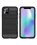 Ultra-thin TPU+PC Brushed Texture Shockproof case For iPhone 11 Pro - $6.99