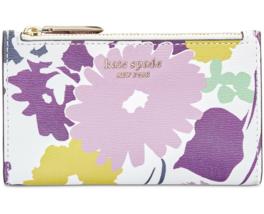 Kate Spade sylvia Swing Flora small slim bifold wallet Card Case ~NWT~ - $84.15
