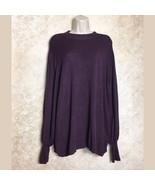 Eloquii Size 18 20 Womens Purple Sweater Pullover - $39.20