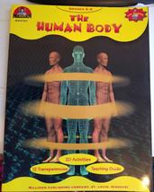 The Human Body Anatomy worksheet book grades 5-9 science 1986 vintage ho... - $9.99