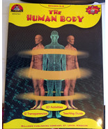 The Human Body Anatomy worksheet book grades 5-9 science 1986 vintage ho... - $9.99