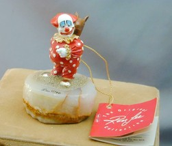 Ron Lee Signed #'d Clown With Toy Horse Sculpture 1990 NWT - $79.99
