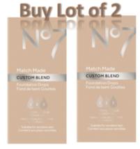 No7 Honey Match Made Custom Blend Foundation Drops 15ml Lot of 2 New  - $12.59