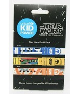 Star Wars Force For Change Activity Band Unicef Kid Power Wristbands - S... - $9.87