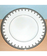 "Waterford Lismore Lace Platinum Accent Luncheon Plate 9"" New - $54.90"