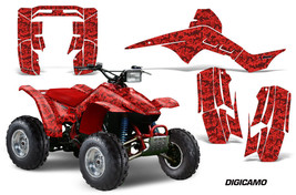 Atv Graphics Kit Quad Decal Sticker For Honda TRX250 Fourtrax 86-89 Digicamo Red - $168.25