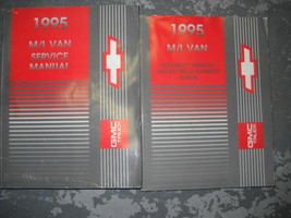 1995 chevy astro & gmc safari van service repair workshop manual oem set - $49.36