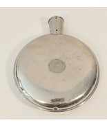 Antique Nickel on Brass Cello Sanitary Hot Water Bottle 1912 AS Campbell... - $8.60