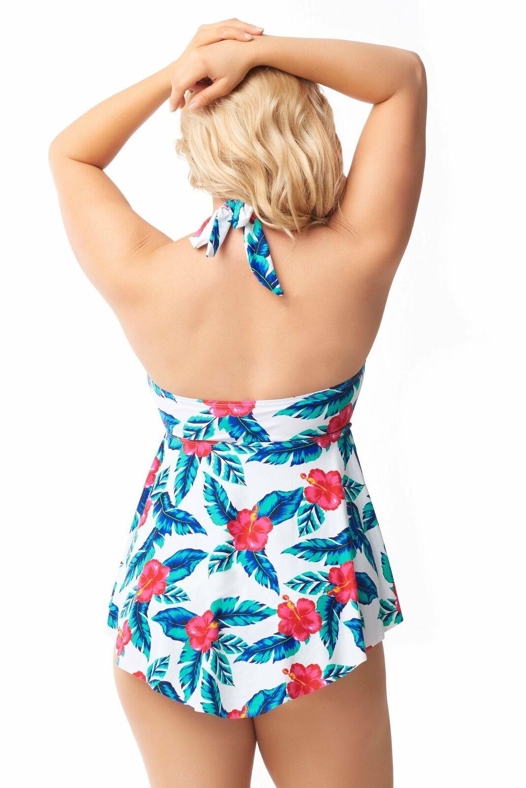 Sea & Sand Beachwear Handkerchief Swimdress Bathing Suit