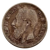1898 Belgium 50 Centimes Very Fine Condition KM #26 - $39.60