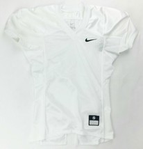 Nike Defender Football Game Practice Jersey Youth Boy's Medium White 535710 - $29.69