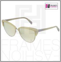 OLIVER PEOPLES ALISHA OV5244S White Pearl Flash Mirrored Sunglasses 5244 Women image 9