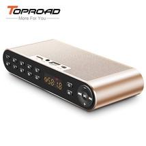 TOPROAD® Wireless Altavoz Bluetooth Speaker Portable HIFI Dual Speakers 3D - $35.06