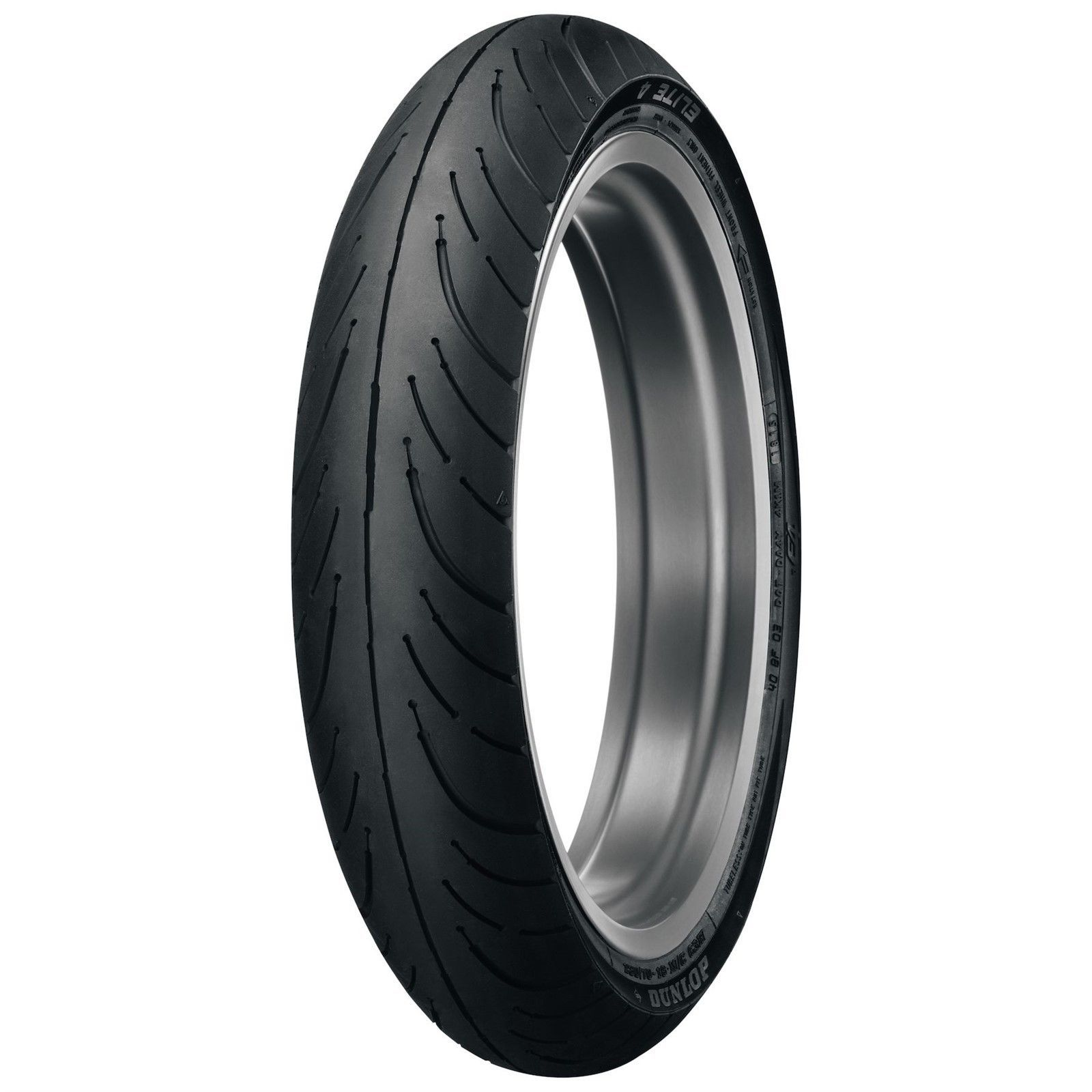 New Dunlop Elite 4 130/70-18 Bias Front Motorcycle Tire 63H High Mileage