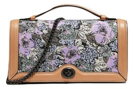 Coach Riley Chain Clutch With Heritage Floral Print - $212.85