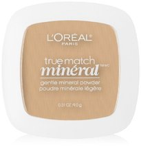 L'Oreal Paris True Match Mineral Pressed Powder, Nude Beige, 0.31 Ounce - $21.00