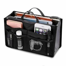 Women Multifunction Travel Cosmetic Insert Pouch Organizer Handbag Stora... - $20.00