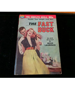 The Fast Buck by Ross Laurence & Dead Man Friday by Hutton Ace Double D-... - $14.45